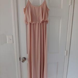 """Dusty blush """"Caitlin"""" bridesmaid dress"""